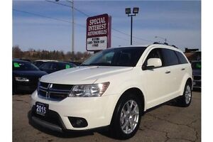 2015 Dodge Journey R/T R/T !! AWD !! LEATHER !! 8.4 TOUCH SCR...