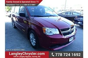 2015 Dodge Grand Caravan SE/SXT X-DEMO w/Dvd Entertainment