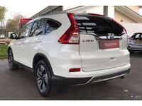 HONDA CR-V 2.0 i-VTEC EX 5dr Auto (white) 2017
