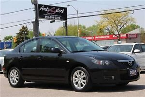 2008 Mazda 3 ONLY 114K! **CLEAN CARPROOF** SUNROOF ALLOYS