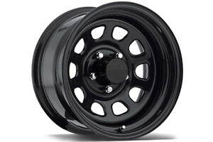 Used Black Steel Rims, 16inch, good condition