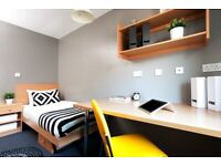 STUDENT ROOMS TO RENT IN SHEFFIELD. ENSUITE WITH PRIVATE BATHROOM,COMMON AREA & OUTDOOR SOCIAL SPACE