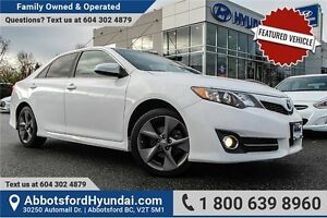 2012 Toyota Camry SE V6 CERTIFIED ACCIDENT FREE & LOCALLY OWNED