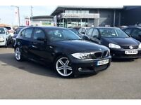2009 09 BMW 118i M SPORT 5 DOOR HATCH BACK, DRIVES LIKE BRAND NEW, FULL LEATHER INTERIOR £3700