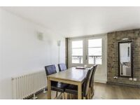 A remarkable second floor warehouse conversion with two double bedrooms, both have large built