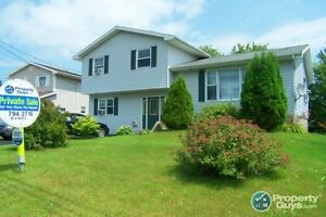 4 level split, 4 bed/2 bath, partially finished basement
