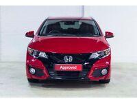 Honda CIVIC I-VTEC SR TOURER (red) 2016