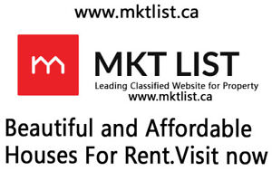 Beautiful Location Townhouse For rent || MKTlist