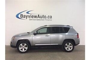 2016 Jeep COMPASS HIGH ALTITUDE- 4x4! SUNROOF! HEATED LEATHER!
