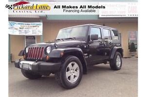 2008 Jeep Wrangler Unlimited Sahara DEALER OF THE YEAR 2015,...