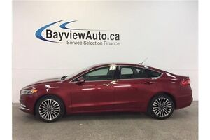 2017 Ford FUSION SE- AWD! ECOBOOST! LEATHER! NAV! SUNROOF!