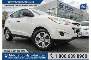 2013 Hyundai Tucson GL LOCALLY OWNED