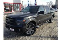 2014 FORD F-150 FX4 - LEATHER, NAVIGATION, BACK UP CAMERA