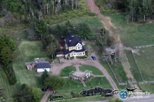 Family estate home located on 215 acres, 3 bdrm/3 baths