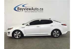 2014 Kia OPTIMA EX- HYBRID! PANOROOF! INFINITY SOUND! LEATHER!