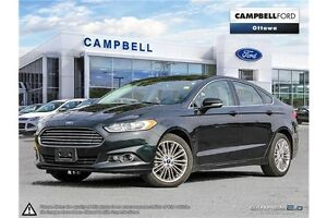 2014 Ford Fusion SE AWD-LEATHER-NAV-POWER ROOF