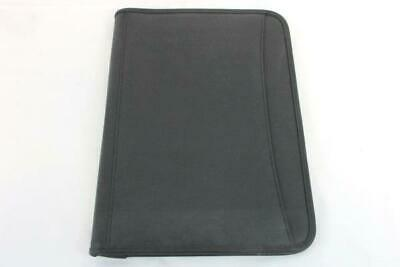 Leeds Durahyde Writing Pad 8.5 X 11 Black 0600-01 Portfolio Notepad Pen Logo