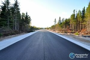 5 85' x 131' lots are ready for development in Deer Lake