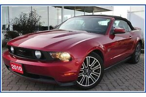 2010 Ford Mustang GT CONVERTIBLE!!/5 SPD/LEATHER/HTD SEATS/NA... Kitchener / Waterloo Kitchener Area image 17
