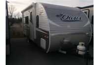 2016 Forest River SHASTA OASIS 18FQ TRAVEL TRAILER