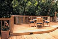 DECK AND FENCE INSTALLER NEEDED CALL (905)348-7263