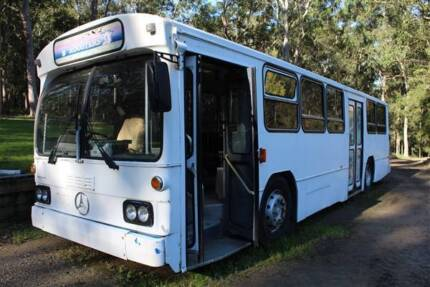 1989 Mercedes Benz Bus Ready to convert to Mobile Home Hamlyn Terrace Wyong Area Preview