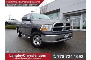 2012 RAM 1500 ST LOCALLY DRIVEN w/ U-CONNECT BLUETOOTH & TOW...