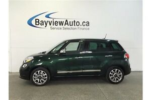 2015 Fiat 500L LOUNGE- TURBO! SUNROOF! LEATHER! NAV!