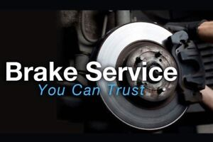 Brake service and replacement