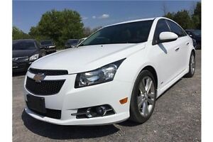 2011 Chevrolet Cruze LTZ Turbo RS TRIM, 2-TONE LEATHER