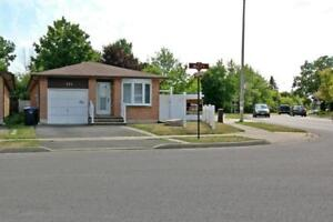 Fully Detached Brick Bungalow Situated On A Huge Pie Shaped Lot