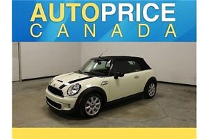 2012 Mini Cooper S 'S'CONVERTIBLE|LEATHER
