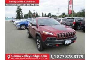 2016 Jeep Cherokee Trailhawk Company Demo, Low Kms, 4X4, Acci...