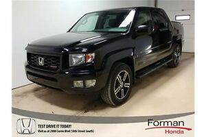 2013 Honda Ridgeline Sport - Back in Black!