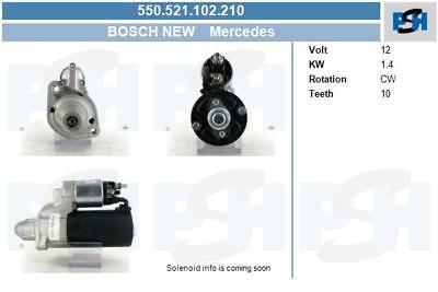 Bosch Anlasser für Startanlage 550.521.102.210 MERCEDES-BENZ