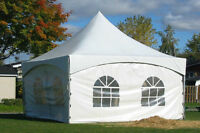 CHAPITEAU COMMERCIAL HIGH PEAK MARQUEE PARTY EVENT TENT 20'x20'