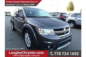 2015 Dodge Journey R/T w/DVD ENTERTAINMENT, SUNROOF& LEATHER