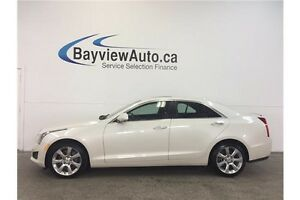 2014 Cadillac ATS - TURBO! AWD! SUNROOF! NAV! COLLISION ALERT!