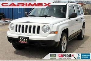 2011 Jeep Patriot | Manual | 4x4 | Accident-FREE | CERTIFIED