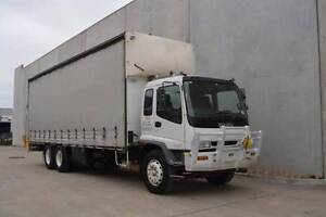 ISUZU 14 PALLET CURTAINSIDER - Finance or (*Rent-to-Own $645pw) Campbellfield Hume Area Preview
