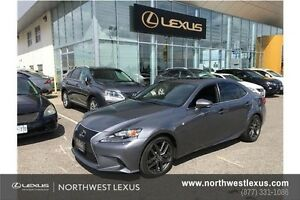 2014 Lexus IS 250 F SPORT PREMIUM PACKAGE