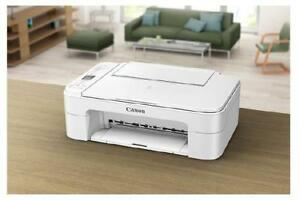 Canon PIXMA TS3120 Wireless Inkjet All-In-One Printer - White