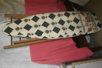 Antique Ironing Board with Pad