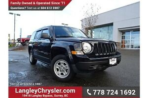 2014 Jeep Patriot Sport/North W/ LOCALLY DRIVEN & ACCIDENT FREE