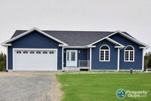Custom built 3 bdrm/2 bath with room for future expansion!