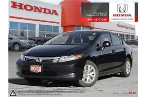 2012 Honda Civic LX BLUETOOTH | AIR CONDITIONING | CRUISE CON...
