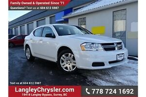 2013 Dodge Avenger Base LOCALLY DRIVEN!