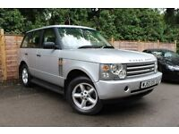 /// LAND ROVER RANGE ROVER HSE= AUTOMATIC DIESEL /// 53 PLATE=LEATHERS=IMMACULATE CONDITION