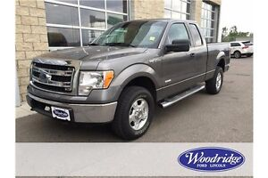 2013 Ford F-150 XLT 3.5L V6, ECOBOOST, NO ACCIDENTS, 4WD