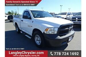 2014 RAM 1500 ST w/ Bluetooth & Air Conditioning
